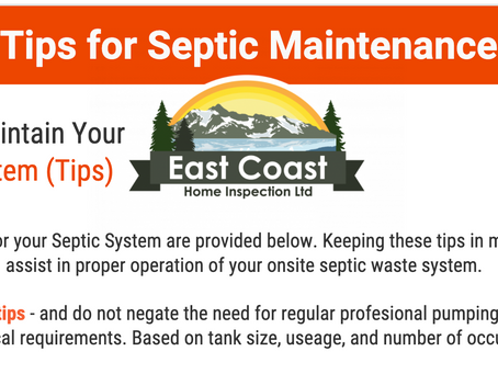 Tips for Septic Maintenance