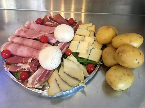 Plateau raclette 2/3 pers