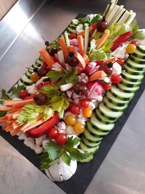 Plateau légumes personnalisable
