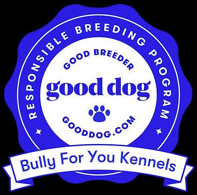 Good Dog Bully For You Kennels - logo.jpeg