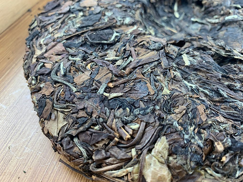 Old Shoumei Aged White Tea Organic Raw Cake from Fuding (1 oz)