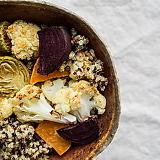 QUINOA BOWL WITH ROASTED VEGGIES