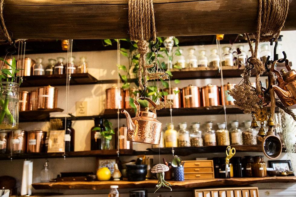 Inside Beloved Cafe
