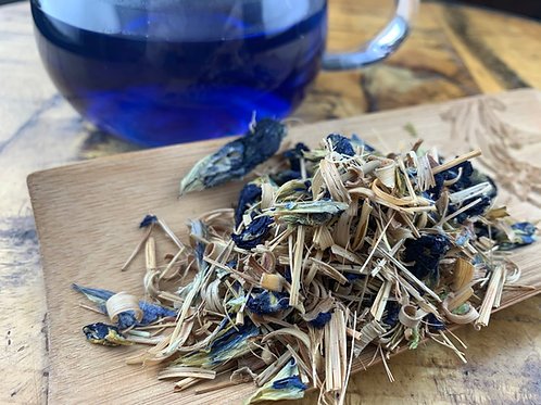 Butterfly Pea & Lemongrass Tea (1 oz)