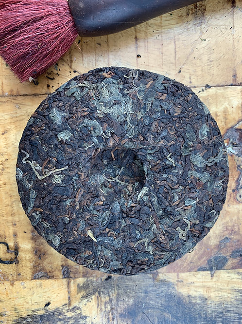 Ripe Puerh tea and Jiaogulan (1 oz)