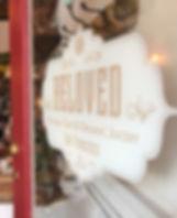 Beloved Cafe Front Door