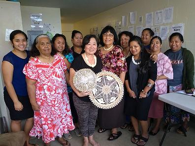 Marshallese Steering Committee members