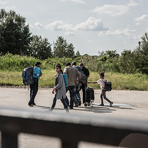 Belgrad Refugee camp