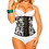 Thumbnail: 1317 - Waist trainer Verox Slim Brown Print