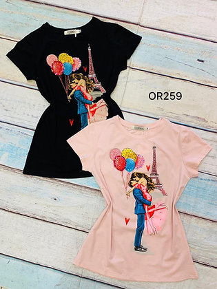 Love Paris T-shirt #OR259