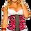 Thumbnail: 1314 - Waist trainer Verox Slim Pink Print