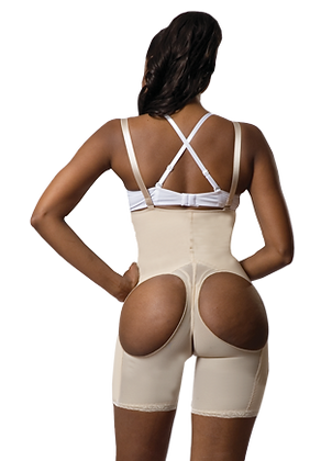 1618 - Strapless Media Pierna Gluteos Libres