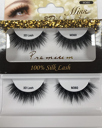 M360 Miss silk lashes