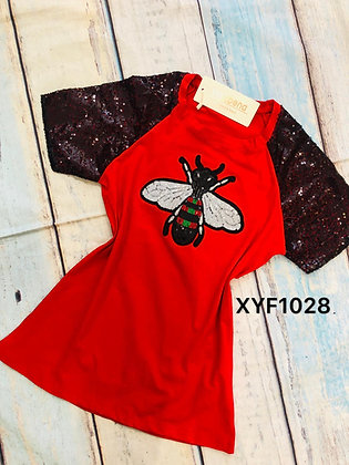 BEE Sparkly T-shirt #XYF1028