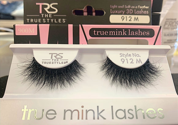 912 TRUE MINK LASHES 3D