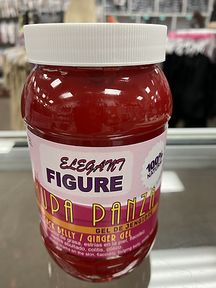 Chupa panza gel rojo