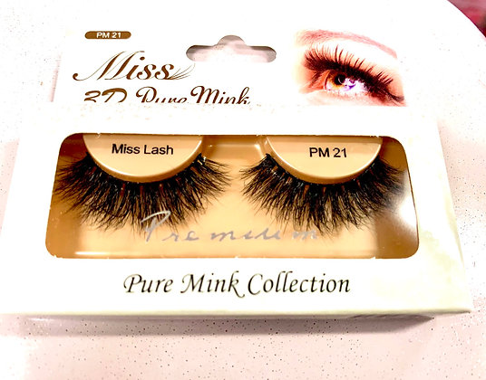 PM 21 Miss 3D pure mink