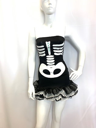 Skeleton Mini Dress