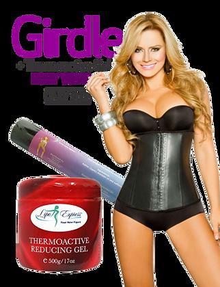 Combo Latex Girdle, Thermo Gel & Body Wrap