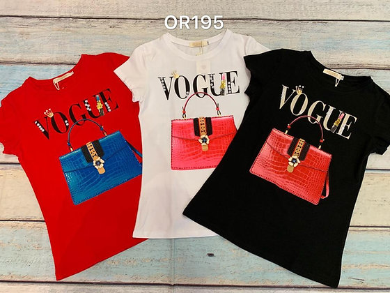 Vouge t-shirt #OR195