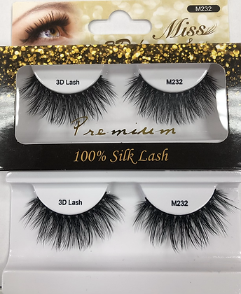 M232 Miss silk lashes