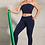 Thumbnail: smi0083 leggins push up blue