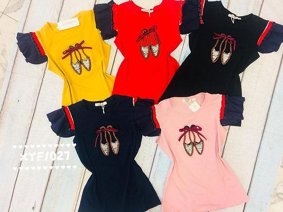 blusa t-shirt #xyf-1027