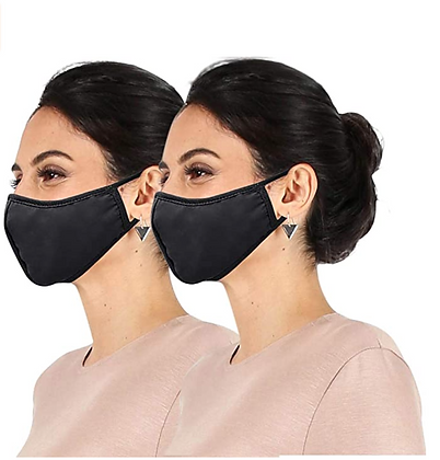 2pk Daily Reusable Face Cover Washable