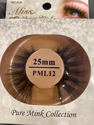 PML12 Miss Mink Lash