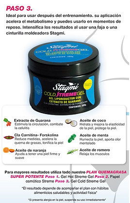 GEL CORPORAL FRÍO CON EXTRACTO DE GUARANA