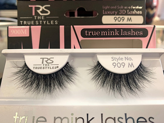 909 TRUE MINK LASHES 3D