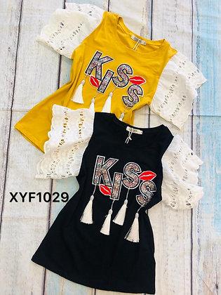 Kiss T-shirt #XYF1029