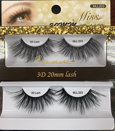 MLL 203 Miss Silk lashes extra long