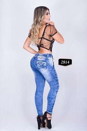 Jeans push up colombianos