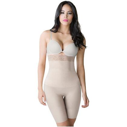 ROMANZA 2051   High Waisted Butt Lifting Shaping Shorts   Tummy Control & Knee L
