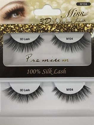 M104 Miss Silk lashes