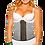 Thumbnail: 1318 - Waist trainer Verox Slim White Print