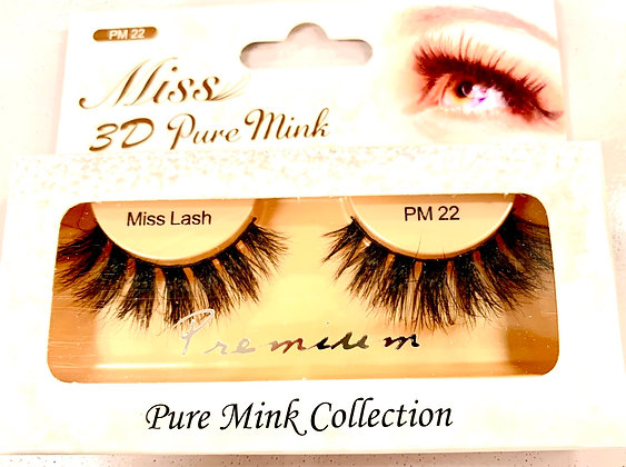 "PM 22 miss lashes ""Mink"""