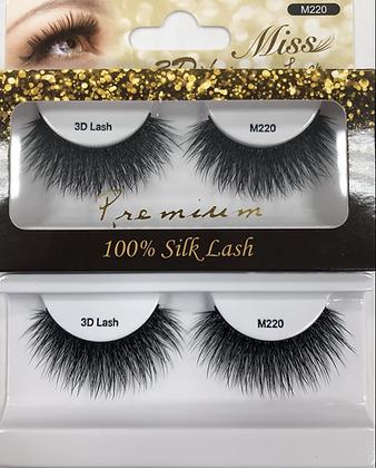 M220 Miss silk lashes
