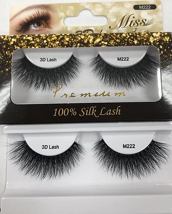 M222 Miss silk lashes