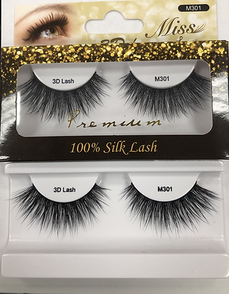 M301 Miss silk lashes