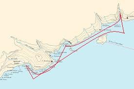 East Tour route