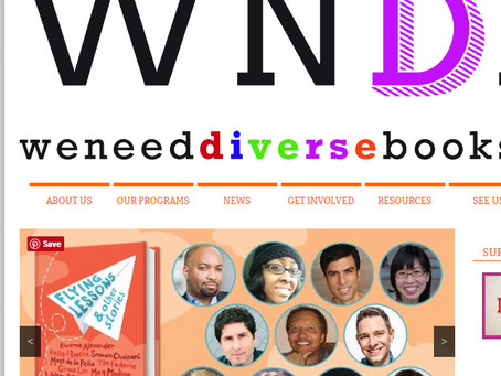 We Need Diverse Books Mentees - I'm One!