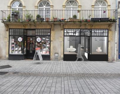 Rendu 3D extérieur boutique Metz