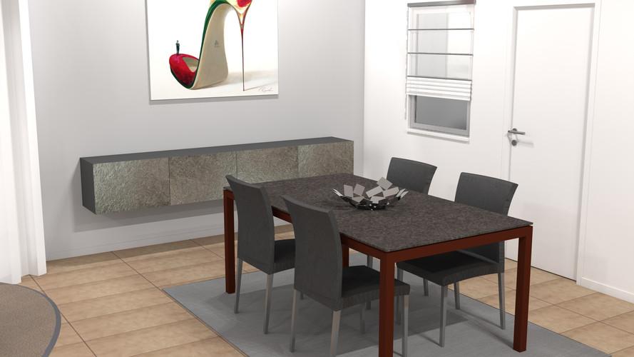 Image de synthèse magasin de mobilier