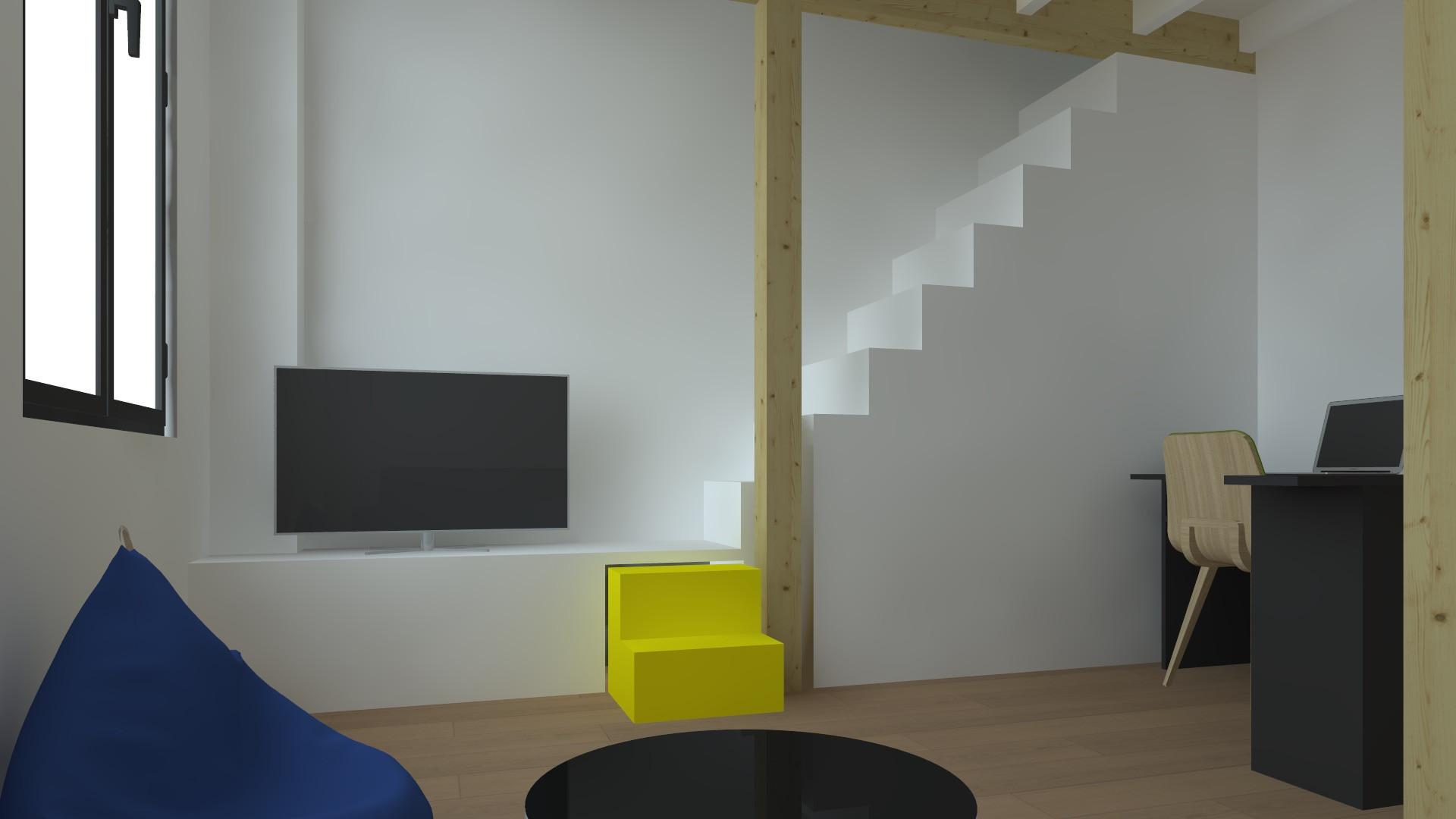 studio à paris vue 3