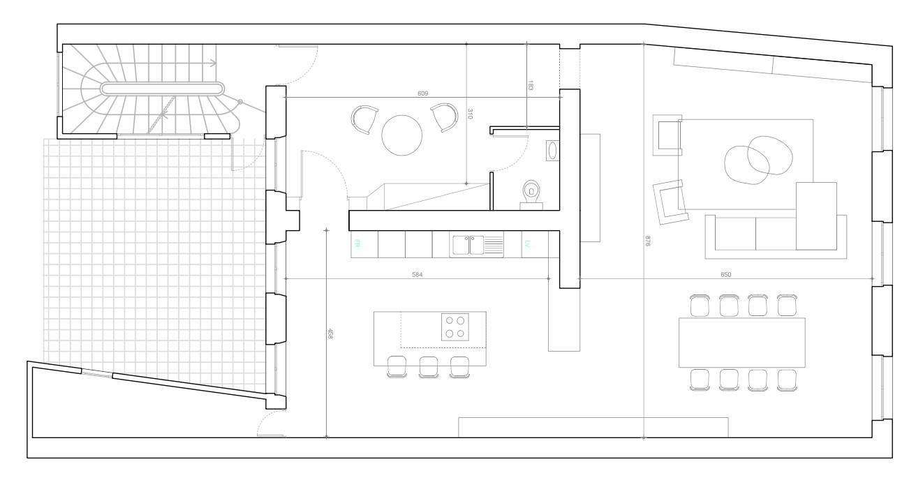 Plan Amenagement Salon Sejour plan aménagement salon séjour cuisine