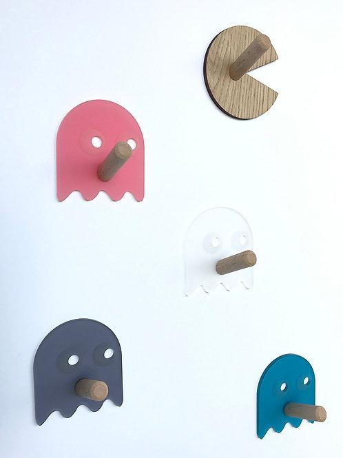 Lot patères Pacman