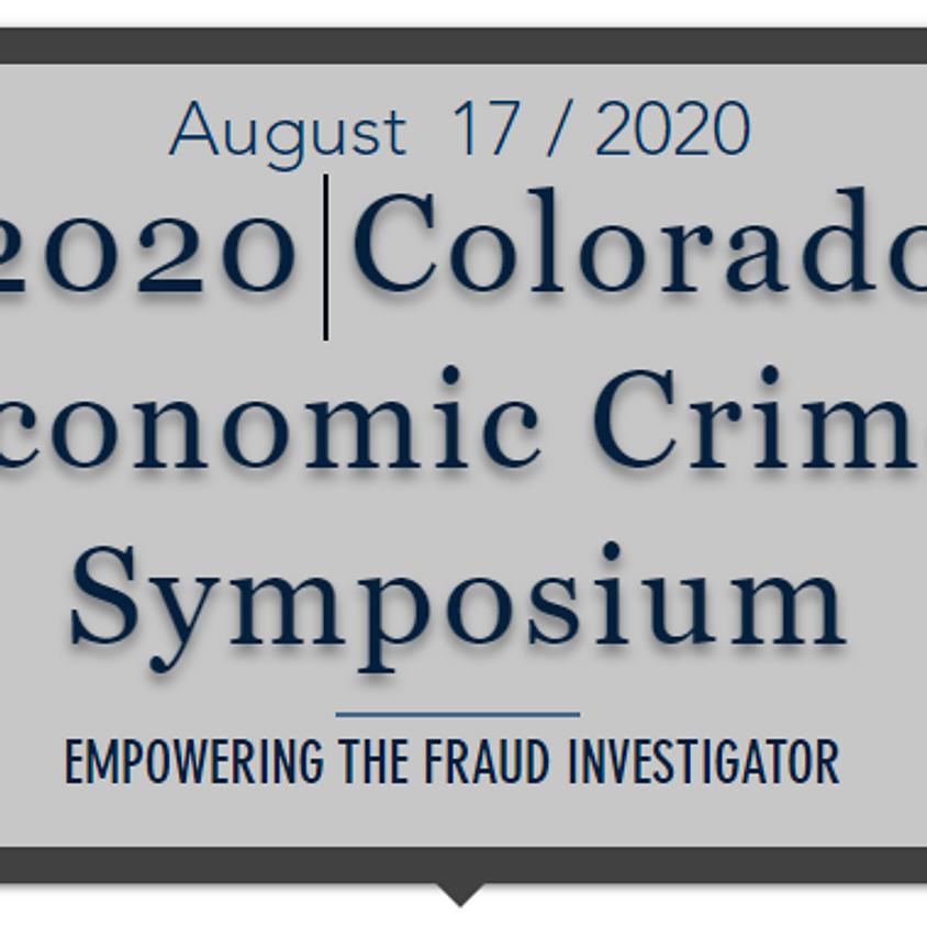 Canceled - 2020 Colorado Economic Crime Symposium (Law Enforcement Personnel Only)