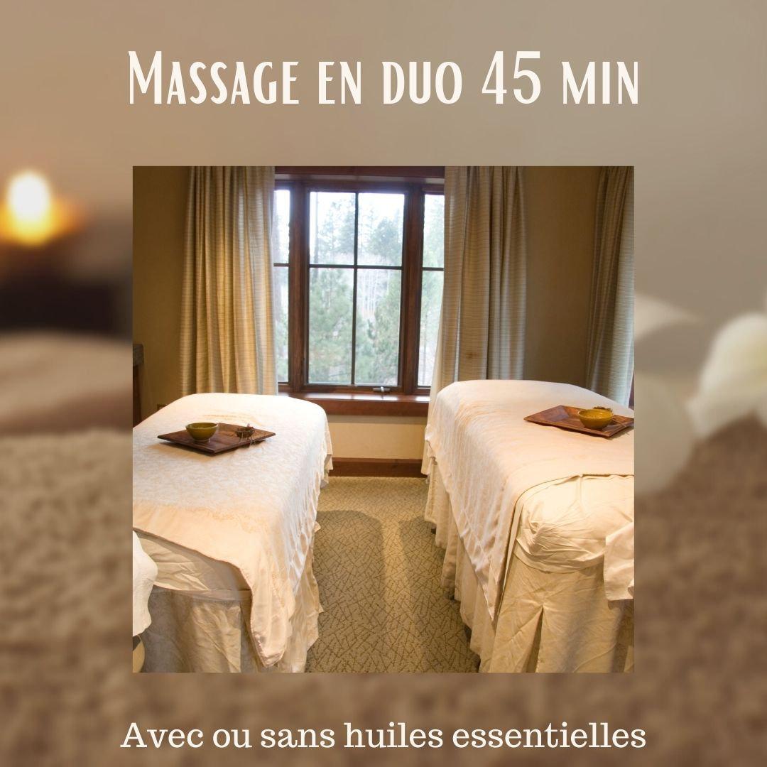 Massage en duos 60 min